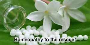 homeopathy to the rescue