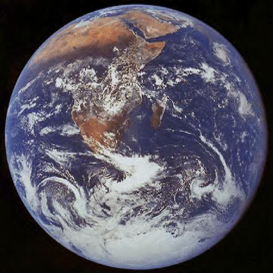From space, we can see that political boundaries are an illusion.  There is just ONE Earth.